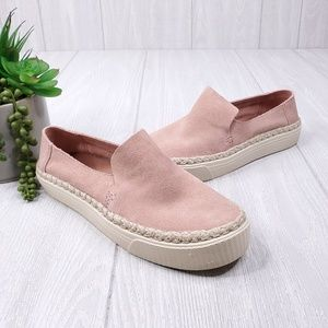 TOMS Sunset Suede Slip On Sneakers Women's Size 7